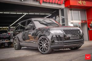 Land Rover Range Rover Autobiography Black on Vossen Wheels (HF-2) 2019 года