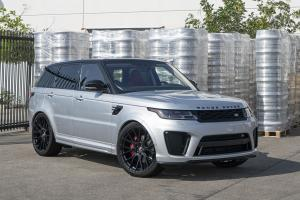 Land Rover Range Rover HSE Matte Grey on Forgiato Wheels (FLOW 001) 2019 года