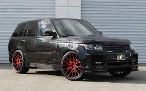 Land Rover Range Rover HSE on Forgiato Wheels (FLOW 001) 2019 года