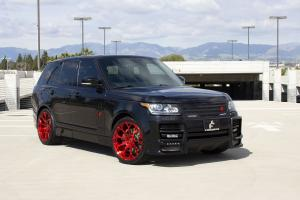 Land Rover Range Rover HSE on Red Forgiato Wheels (Drea-M) 2019 года