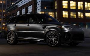 Land Rover Range Rover Sport SVR Matte Black by Designo Motoring on Vossen Wheels (HF-2) 2019 года