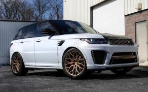 Land Rover Range Rover Sport SVR by Designo Motoring on Vossen Wheels (HF-2) 2019 года