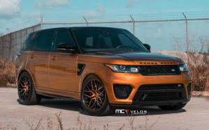 Land Rover Range Rover Sport SVR by MC Customs on Velos Wheels (VLS07) 2019 года