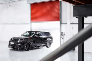 2019 Land Rover Range Rover Sport SVR by Urban Automotive on Vossen Wheels (UV-3)