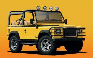 Land Rover Defender NAS-E 4x4 by Twisted 2020 года