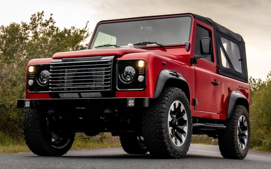 Land Rover Defender 90 70th Anniversary by HIMALAYA '2020