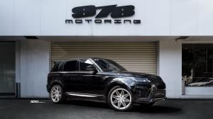 2020 Land Rover Range Rover Sport by StarTech on ADV.1 Wheels (ADV08 FLOWSPEC)