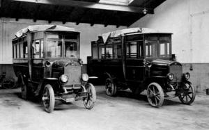 Laurin & Klement MS Brozik Post bus 1920 года