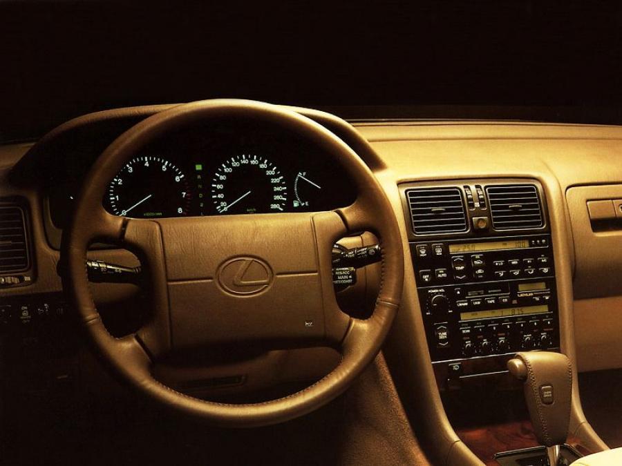 Панель приборов Lexus LS400 1989 года выпуска для рынка Всего мира ...