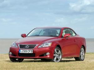 Lexus IS250C 2009 года (UK)