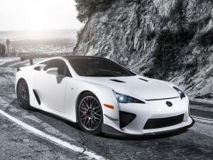 Lexus LF-A Nurburgring Performance Package 2010 года (US)