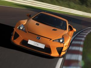 Lexus LF-A Nurburgring Performance Package 2010 года
