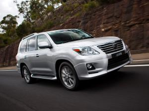 Lexus LX570 Sport Package 2010 года