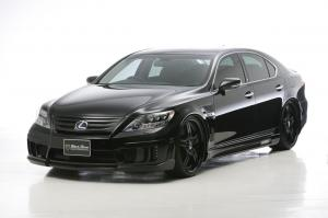2011 Lexus LS600h Black Bison Edition by Wald