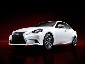 Lexus IS250 F-Sport 2013 года