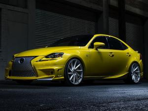 2013 Lexus IS350 F-Sport by Vossen