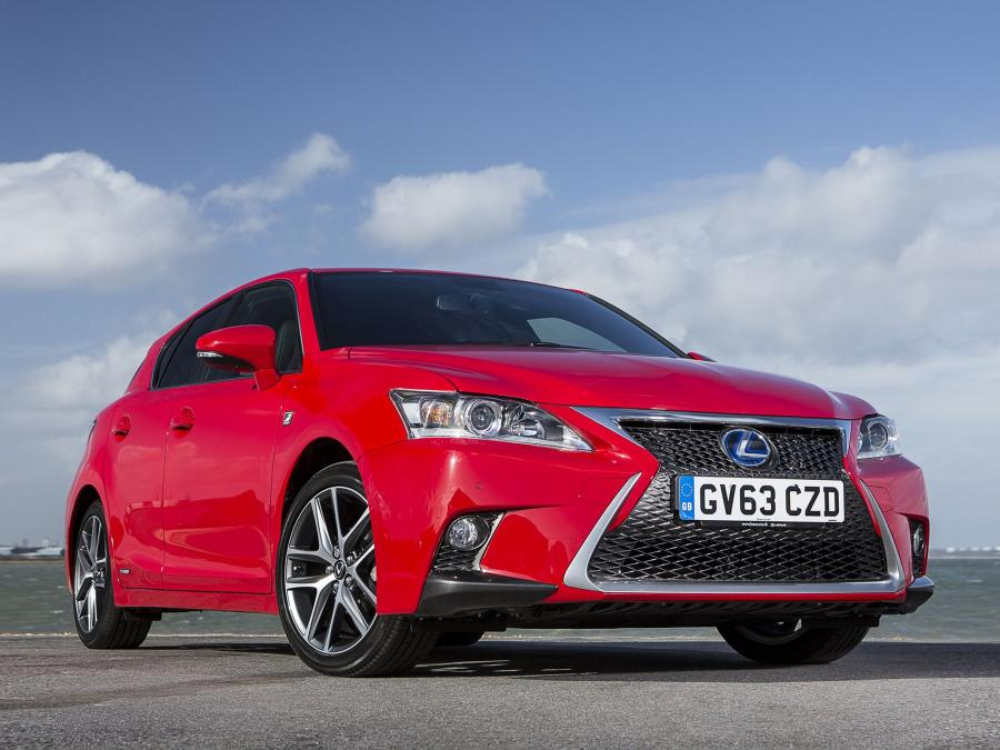 2014 Lexus CT200h F-Sport (UK)