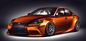 2014 Lexus IS250 F-Sport Paul Tolson & Gabriel Escobedo SEMA Edition