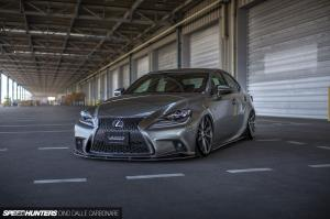 Lexus IS350 F-Sport by Lexon on Vossen Wheels 2014 года