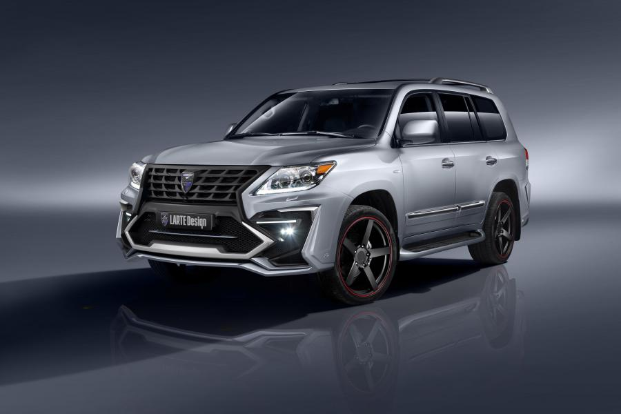 Lexus LX570 Alligator by Larte Design
