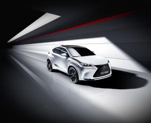 Lexus NX200t by will.i.am 2014 года
