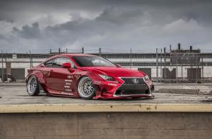 Lexus RC350 F-Sport Rocket Bunny by Gordon Ting 2014 года