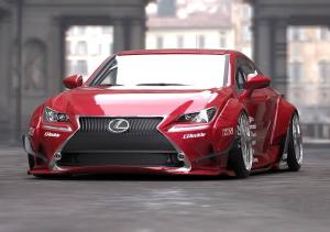 Lexus RC350 by LexusTuned and GReddy and Rocket Bunny on Toyo Tires 2014 года