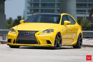 Lexus IS350 F-Sport by Lexon Exclusive on Vossen Wheels