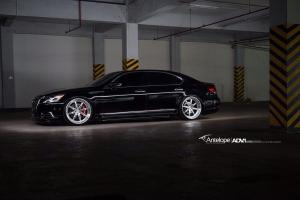 Lexus LS460 by Antelope Ban on ADV.1 Wheels (ADV08 Track Function) 2015 года