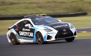 Lexus RC F Safety Car 2015 года