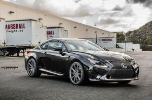Lexus RC F by TAG Motorsports on Vossen Wheels 2015 года