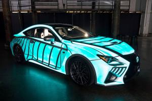 Lexus RC-F Heart Beat 2015 года