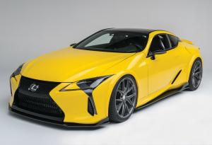Lexus LC500 by Gordon Ting & Beyond Marketing 2016 года
