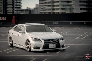 2016 Lexus LS460 on Vossen Wheels (CG-201)