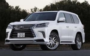 Lexus LX570 Sports Line by Wald 2016 года