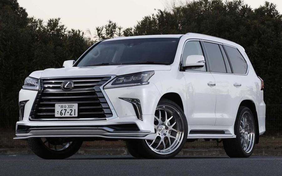 Lexus LX570 Sports Line by Wald (URJ200) '2016