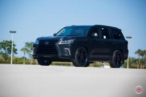 Lexus LX570 by JM Lexus & JM Custom Creations on Vossen Wheels (VPS-302) 2016 года