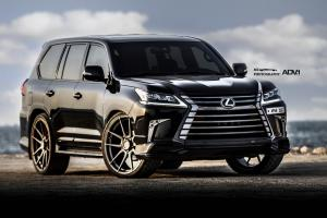 Lexus LX570 on ADV.1 Wheels (ADV5.0 M.V1 CS) 2016 года