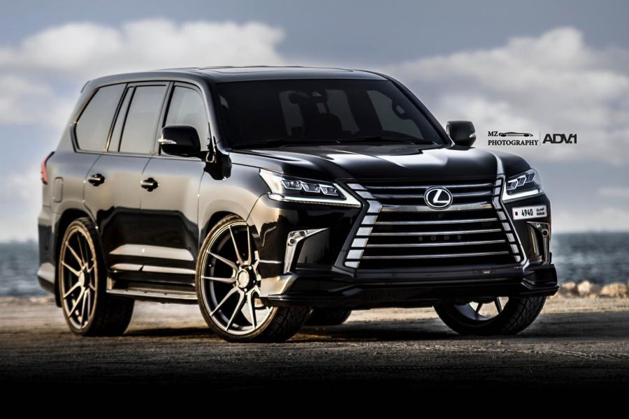 Lexus LX570 on ADV.1 Wheels (ADV5.0 M.V1 CS)