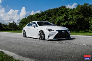 Lexus RC200t X Work on Vossen Wheels (VWS-2) 2016 года