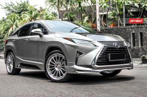 2016 Lexus RX200t by Permaisuri on HRE Wheels (RS103)