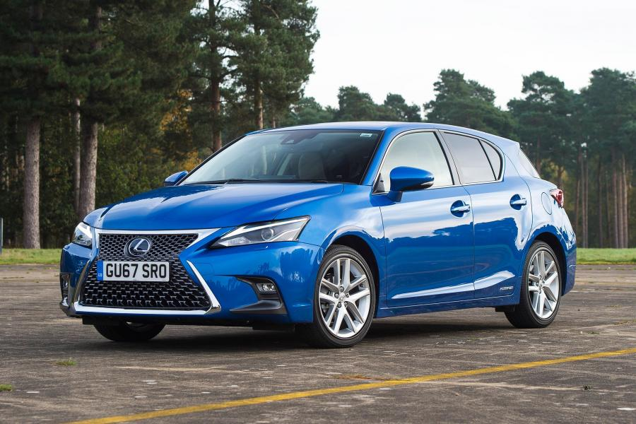 2017 Lexus CT200h (UK)