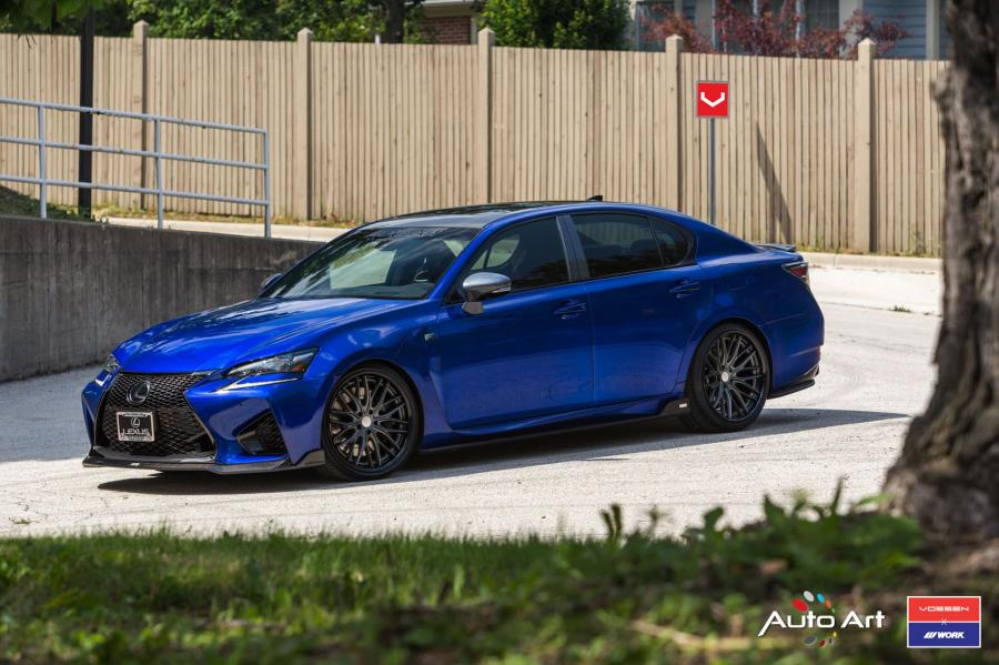2017 Lexus GS F by Auto Atr on Vossen Wheels (VWS-2)