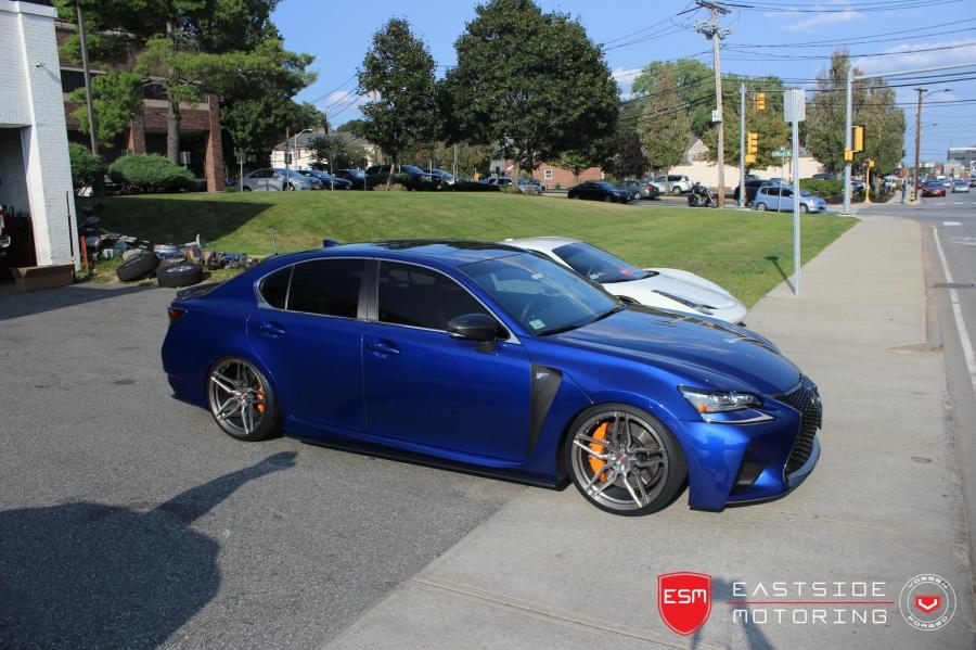 2017 Lexus GS F by EastSide Motoring on Vossen Wheels (HC-2)