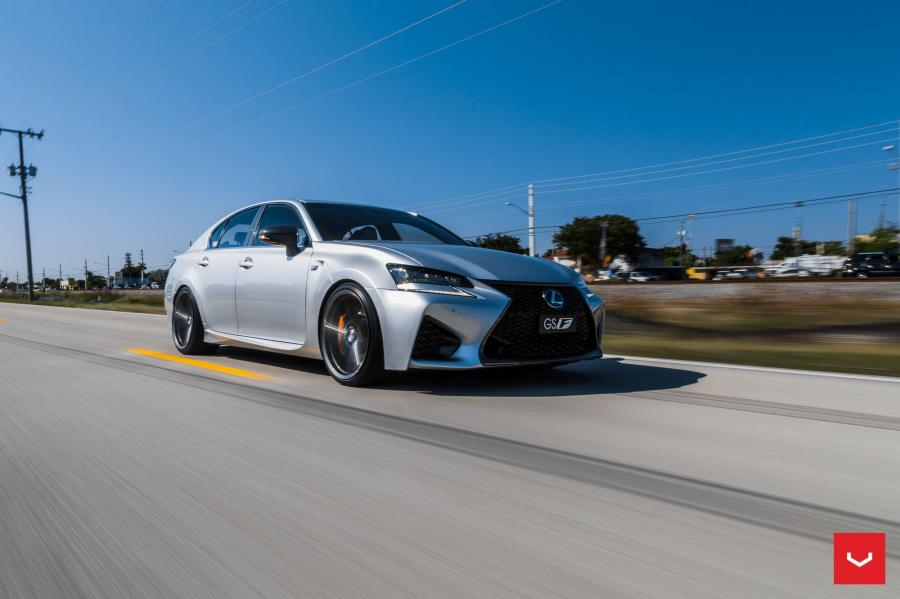 2017 Lexus GS F on Vossen Wheels (VFS-10)