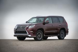 Lexus GX460 Sport Design Package 2017 года