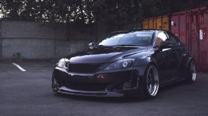 Lexus IS250 Black by Clinched