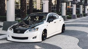 2017 Lexus IS350 White & Black by Clinched