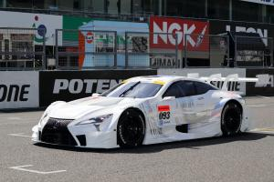 Lexus LC500 Super GT by Gazoo Racing 2017 года