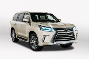 Lexus LX570 Two-Row 2017 года
